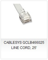 CABLESYS GCLB466025 LINE CORD 25'