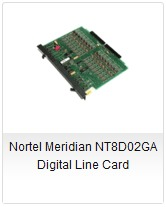 Nortel Meridian NT8D02GA Digital Line Card