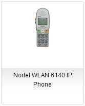 Nortel WLAN 6140 IP Phone