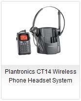 Plantronics CT14 Wireless Phone Headset System